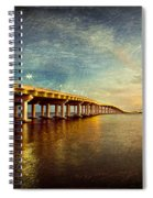 Twilight Biloxi Bridge Spiral Notebook