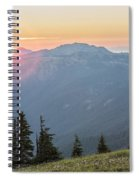 Twilight Is Coming Spiral Notebook