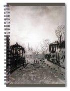 Twilight Landscape 1880 Alexey Kondratievich Savrasov Spiral Notebook