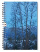 Twilight Moon Spiral Notebook
