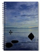 Twilight Paddle  Spiral Notebook