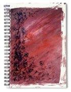 Twilight Rose Spiral Notebook