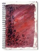 Twilight Rose Spiral Notebook