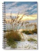 Twilight Sea Oats Spiral Notebook