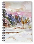 Twilight Serenade I Spiral Notebook