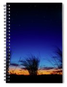 Twilight Silhouettes Spiral Notebook