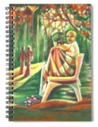 Twilight Years Spiral Notebook