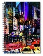 Twilight Zone Hustle Bustle Spiral Notebook