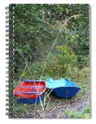 Twin Boats Bella Coola Bc Spiral Notebook