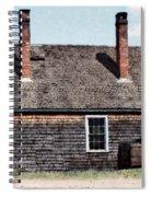Twin Chimneys Spiral Notebook