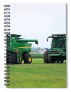 Twin Combines Spiral Notebook