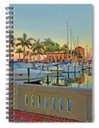 Twin Dolphin Marina Spiral Notebook