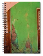 Twin Doors Spiral Notebook