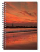 Twin Lakes Sundown Spiral Notebook