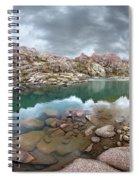 Twin Lakes - Weminuche Wilderness - Colorado Spiral Notebook