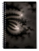 Twin Moons Spiral Notebook