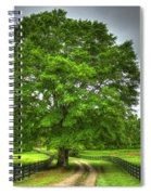 Twin Oaks Drive Southern Living Spiral Notebook