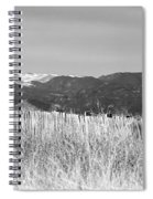 Twin Peaks Rustic Fence Spiral Notebook