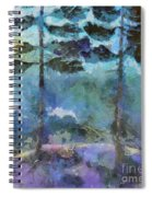 Twin Pines Spiral Notebook