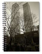 Twin Towers Spiral Notebook