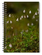 Twinflower Spiral Notebook