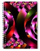 Twins Spiral Spiral Notebook