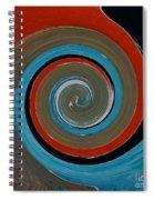 Twirl Red 01 Spiral Notebook