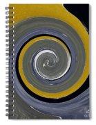 Twirl Yellow  Spiral Notebook