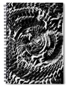 Twisted Gears Abstract Spiral Notebook