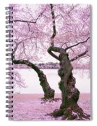 Twisted In Bloom Spiral Notebook
