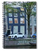 Twisted Panorama. Amsterdam Spiral Notebook