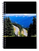 Twists And Turns Spiral Notebook