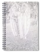 Two Angels, 1904  Spiral Notebook