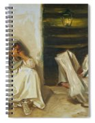 Two Arab Women Spiral Notebook