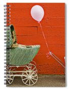 Two Baby Buggies  Spiral Notebook