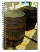 Two Barrels Spiral Notebook