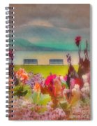 Two Benches Spiral Notebook