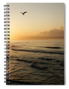 Two Birds At Breakast Spiral Notebook