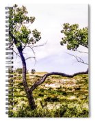 Two Branches Spiral Notebook
