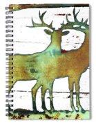 Two Bucks 2 Spiral Notebook