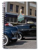 Two Cars Spiral Notebook
