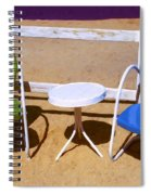 Two Chairs Spiral Notebook