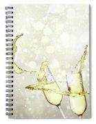 Festive Toast Spiral Notebook