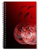Two Cheery Cherries Spiral Notebook