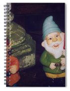 Two Colorful Dudes Spiral Notebook