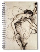 Two Dancers Resting Spiral Notebook