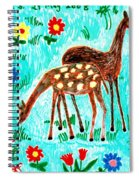 Two Deer Spiral Notebook