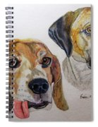Two Dogs Spiral Notebook