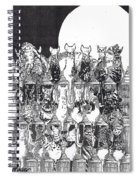 Two Dozen And One Cats Spiral Notebook