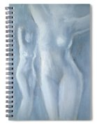 Two Female Nudes Spiral Notebook